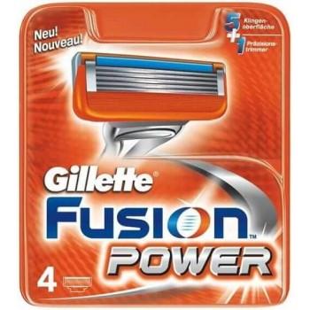 Gillette Fusion Power náhradní hlavice 4 ks Gillette - 1