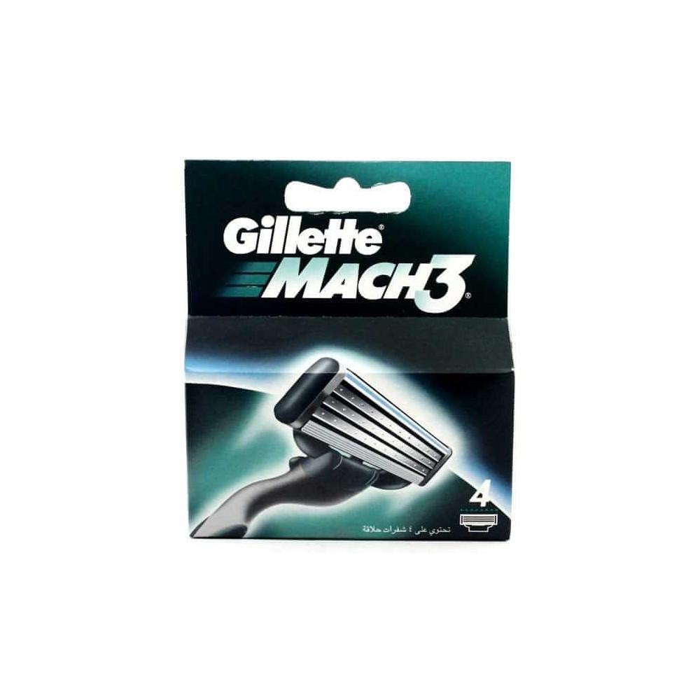 Gillette Mach 3 náhradní hlavice 4 ks Gillette - 1