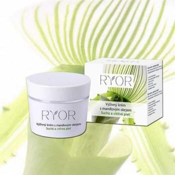 Ryor výživný krém s mandlovým olejem na suchou a citlivou pleť 50 ml RYOR - 1