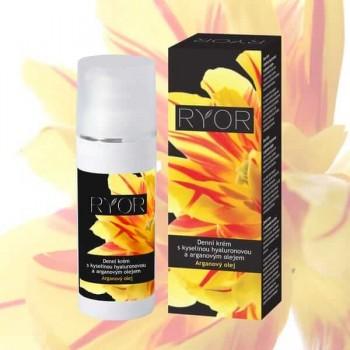 Ryor Argan denní krém s kyselinou hyaluronovou a arganovým olejem 50 ml RYOR - 1