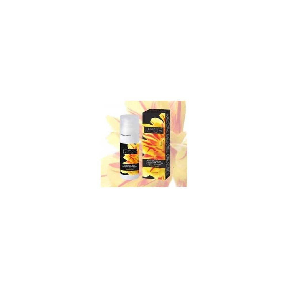 Ryor Argan revitalizační sérum s kyselinou hyaluronovou a arganovým olejem 50 ml RYOR - 1