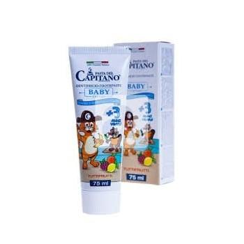 Pasta del Capitano - zubní pasta BABY 3+ Tuttifrutti 75 ml pasta del capitano - 1