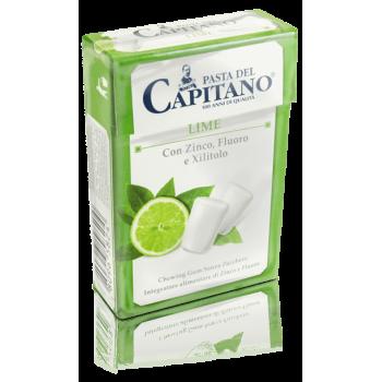 Pasta del Capitano - žvýkačky s příchutí limetky - box 21 ks pasta del capitano - 1