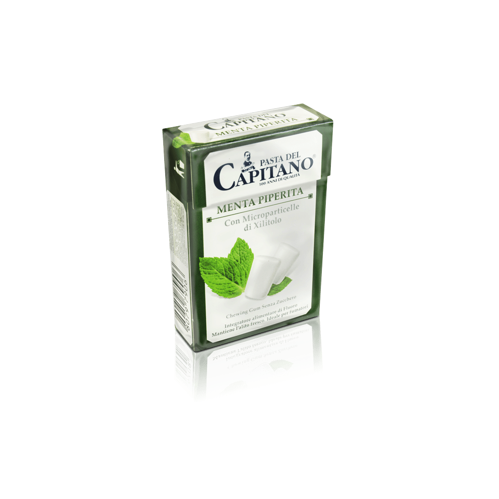 Pasta del Capitano - žvýkačky s příchutí máty peprné - box 21 ks pasta del capitano - 1