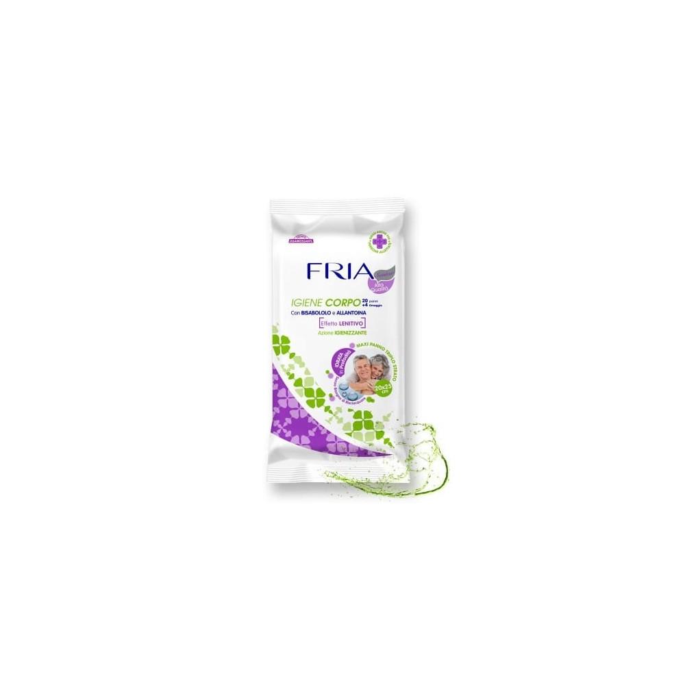 FRIA - zklidňující čistící tělové utěrky pro seniory 24 ks FRIA - 1