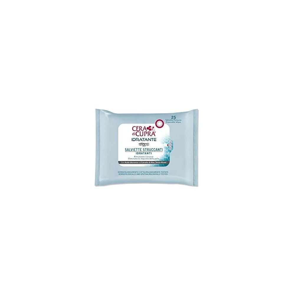 Cera di Cupra - hydratační čisticí a odličovací pleťové ubrousky 25 ks CERA di CUPRA - 1