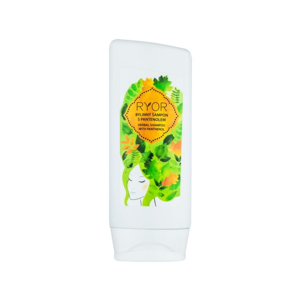 Ryor Hair Care bylinný šampon s panthenolem 200 ml RYOR - 2