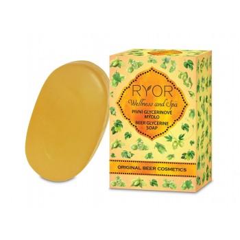Ryor Wellness and Spa Beer Cosmetics pivní glycerinové mýdlo 100 g RYOR - 1