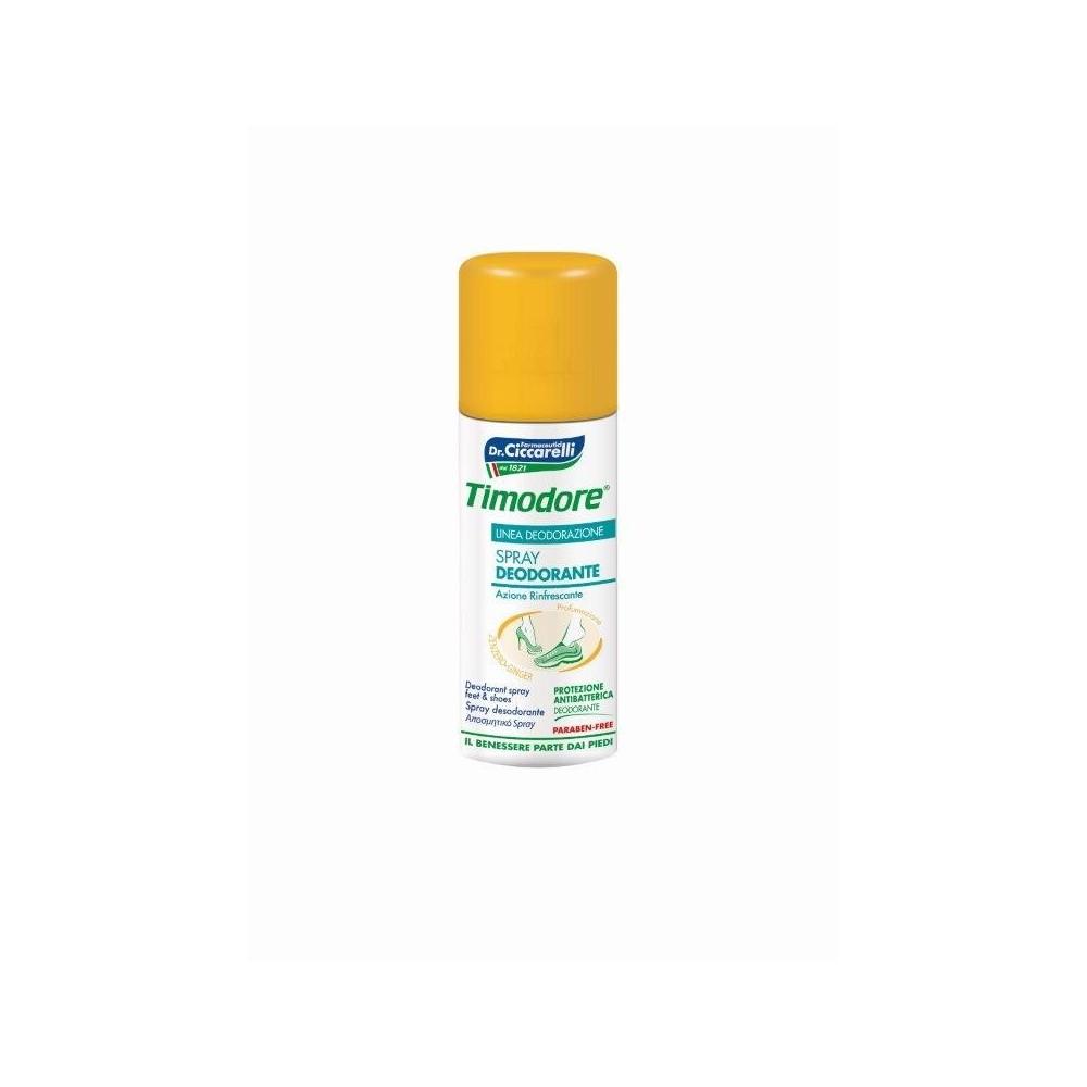 Timodore antibakteriální sprej na nohy se zázvorem 150 ml Timodore - 1