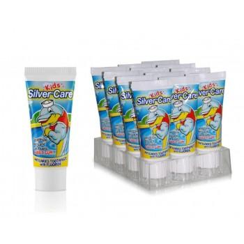 SilverCare zubná pasta junior Bubble gum 50ml SilverCare - 1