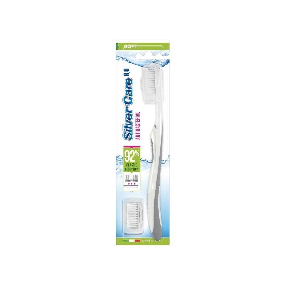 SilverCare zubní kartáček H2O měkký + náhrada 1ks SilverCare - 1