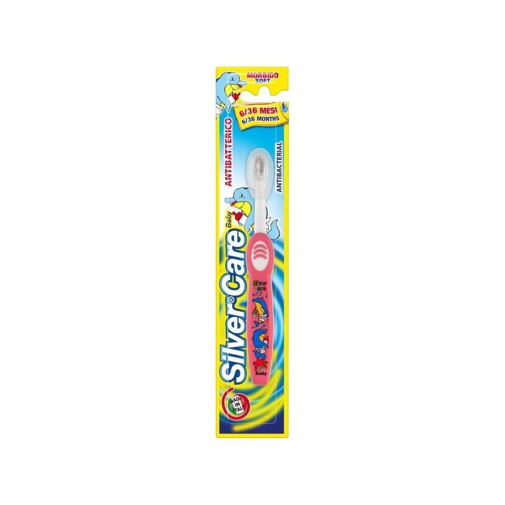 SilverCare dětský zubní kartáček 6 - 36 měsíců měkký SilverCare - 1