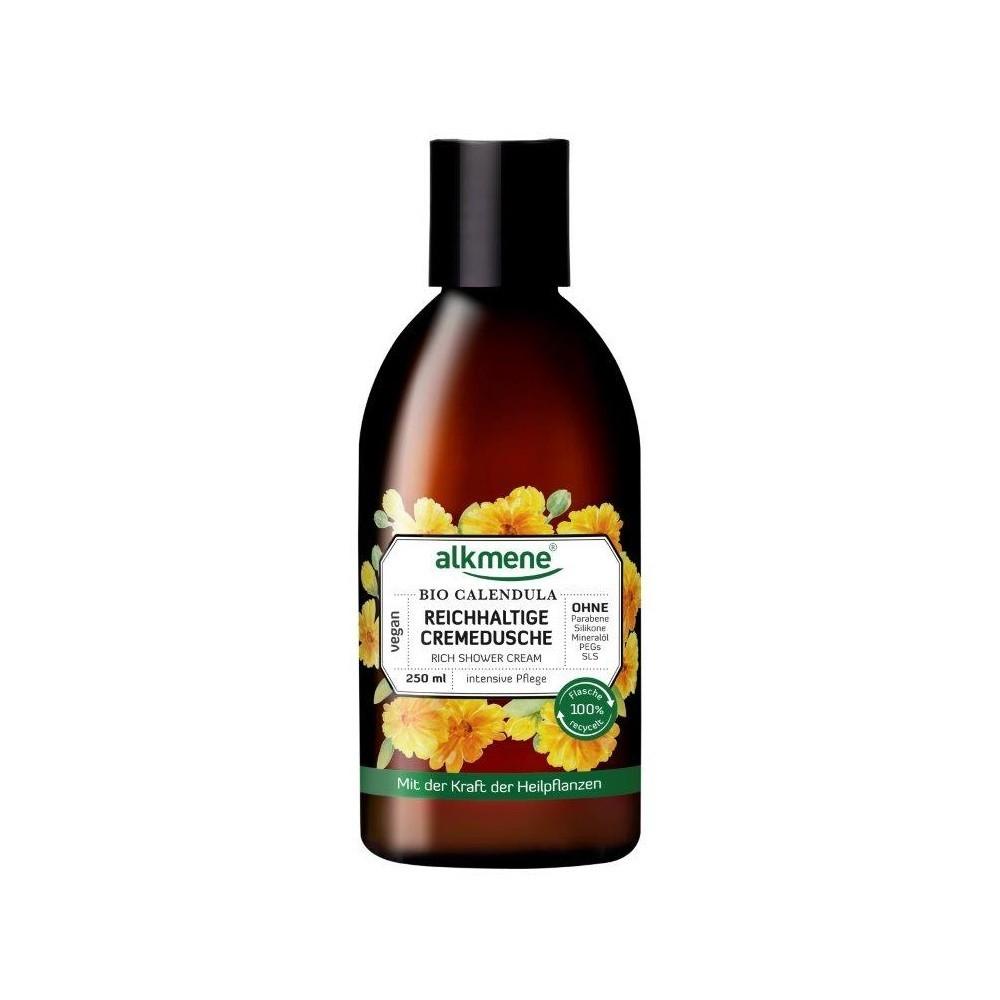 Alkmene BIO krémový sprchový gel měsíčkem lékařským 250 ml Alkmene   Přírodní kosmetika - 1