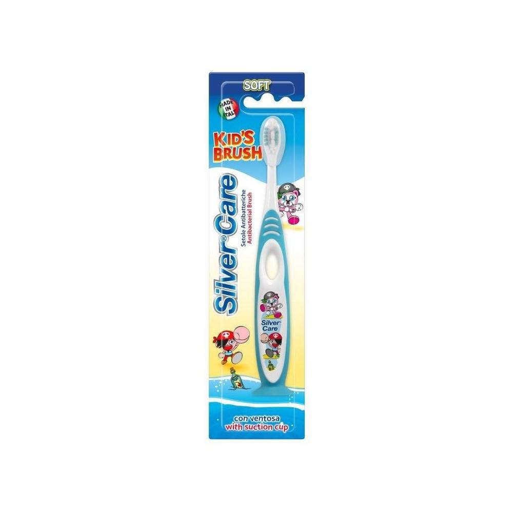 SilverCare Zubní kartáček dětský 6/36 měsíců - měkký pasta del capitano - 1