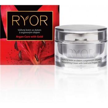 Ryor Argan Care with Gold výživný krém se zlatem a arganovým olejem 50 ml RYOR - 1