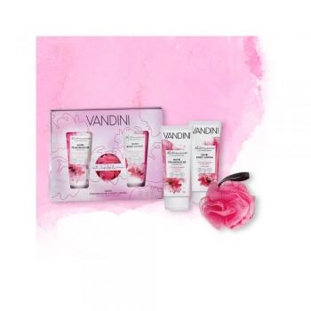 Vandini - HYDRO dárková sada sprchový gel 200ml a tělové mléko 200ml + houbička na koupání Aldo Vandini - 4