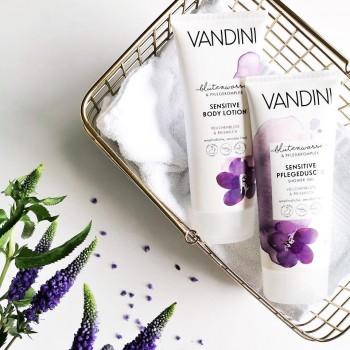 Vandini - SENSITIVE Jemný sprchový gel fialka a ryžové mléko pro citlivou pokožku 200 ml Aldo Vandini - 2