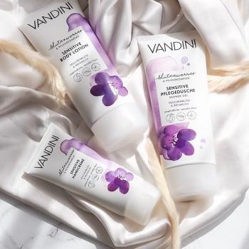 Vandini - SENSITIVE Jemný sprchový gel fialka a ryžové mléko pro citlivou pokožku 200 ml Aldo Vandini - 3