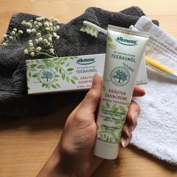Alkmene TEA TREE zubní pasta HERBAL 100 ml Alkmene | Přírodní kosmetika - 2