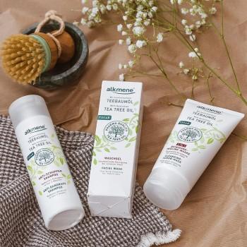 Alkmene Tea Tree oil - šampon proti lupům 200 ml Alkmene   Přírodní kosmetika - 3