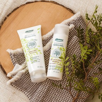 Alkmene Tea Tree oil - šampon proti lupům 200 ml Alkmene   Přírodní kosmetika - 4