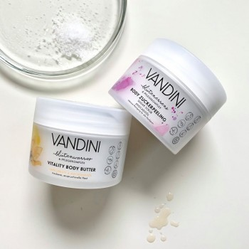 Vandini VITALITY vitalizující tělové máslo pro suchou a náročnou pokožku 200 ml Aldo Vandini - 3