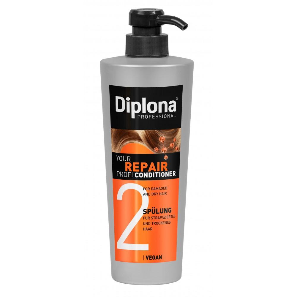 Diplona Your Repair Profi kondicionér pro suché, poškozené a lámavé vlasy 600 ml Diplona - 1